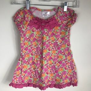 Hanna Andersson Floral Dress 90/3t